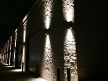 Bâtiment léger de tache Image libre de droits