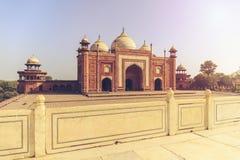 Bâtiment latéral de Taj Mahal Photo libre de droits
