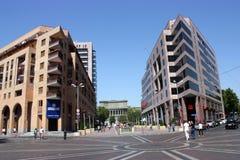 Bâtiment moderne à Erevan Images stock