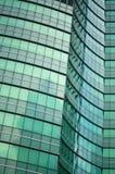 Bâtiment moderne abstrait vert Photos libres de droits