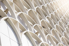 Bâtiment moderne d'architecture d'art Images libres de droits