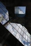 Bâtiment moderne de détail d'architecture, Londres Image libre de droits