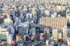 Bâtiment moderne de paysage urbain d'affaires de l'Asie Photographie stock libre de droits