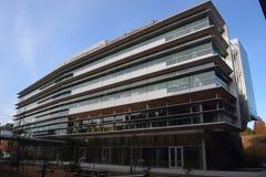 Bâtiment moderne, enseignant en Duke University image libre de droits