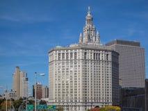 Bâtiment municipal de Manhattan à New York City Images stock