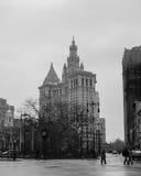 Bâtiment municipal de Manhattan Photographie stock libre de droits