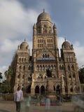 Bâtiment municipal de Mumbai, Mumbai, Inde images stock