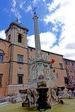 Bâtiment municipal de Tarquinia photographie stock libre de droits