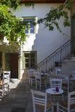 Bâtiment néoclassique à Athènes photos libres de droits