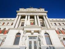 Bâtiment néoclassique à Madrid photographie stock libre de droits