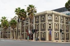 Bâtiment national de musée de laine dans Geelong, en Australie image libre de droits