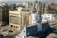 Bâtiment naval de commande à Valparaiso Images stock
