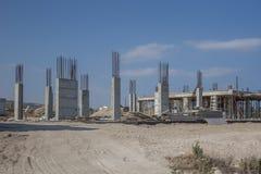 Bâtiment non fini en Chypre photos libres de droits