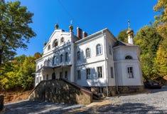 Bâtiment pour le monastère d'hypothèse de frères dans Lipetsk Photographie stock