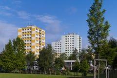Bâtiment préfabriqué Photo libre de droits