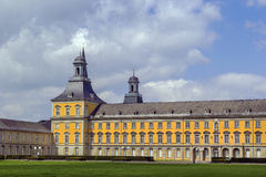 Bâtiment principal de l'université de Bonn, Allemagne Photos stock