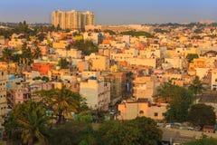 Bâtiment résident dans l'Inde de Bangalore Photos libres de droits