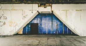 Bâtiment résidentiel abandonné Images libres de droits