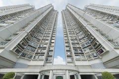 Bâtiment résidentiel ayant beaucoup d'étages Photo libre de droits