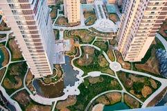 Bâtiment résidentiel chinois Images stock