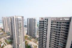 Bâtiment résidentiel chinois Photographie stock