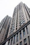 Bâtiment résidentiel chinois Images libres de droits