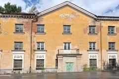Bâtiment résidentiel d'architecture staliniste Photographie stock