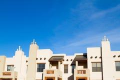 Bâtiment résidentiel de condominium d'appartement de sud-ouest Images libres de droits
