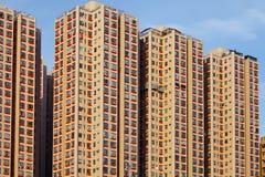Bâtiment résidentiel de Hong Kong images libres de droits
