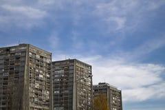 Bâtiment résidentiel en Croatie Images libres de droits