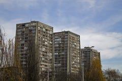 Bâtiment résidentiel en Croatie Images stock