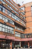 Bâtiment résidentiel moderne à Sarajevo La Bosnie-et-Herzégovine photos stock