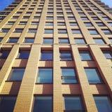 Bâtiment résidentiel moderne grand Images stock