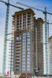 Bâtiment residental moderne image libre de droits