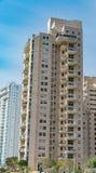 Bâtiment residental moderne Image stock