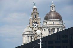 Bâtiment royal de foie de Liverpool Photographie stock libre de droits