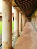Bâtiment ruiné à Pompeii image stock