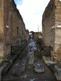 Bâtiment ruiné à Pompeii photographie stock