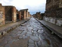 Bâtiment ruiné à Pompeii photos libres de droits
