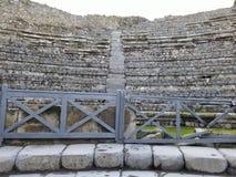 Bâtiment ruiné à Pompeii photographie stock libre de droits