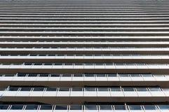 Bâtiment sans expression et moderne d'architechture Photos stock