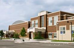 Bâtiment scolaire Image libre de droits