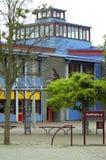 Bâtiment scolaire Photo libre de droits