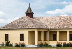 Bâtiment scolaire historique Photos stock