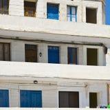 Bâtiment simple sur Malte Photographie stock