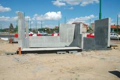 Bâtiment souterrain de passage Images libres de droits