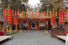 Bâtiment traditionnel chez Guan Yu Temple Image libre de droits