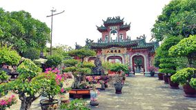 Bâtiment traditionnel en Hoi An images stock