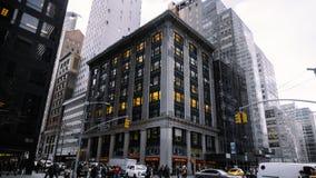Bâtiment typique de New York images stock