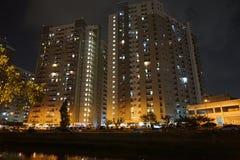 Bâtiment, ville et appartement image libre de droits